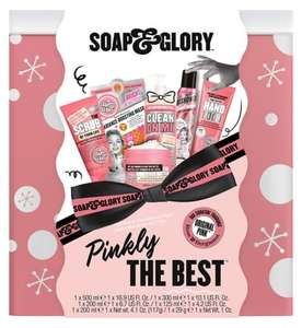 Soap & Glory Pinkly The Best Gift Set - £15 + £1.50 Click & Collect / £3.50 delivery @ Boots