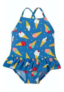 Up to 60% off organic kids and maternity clothes e.g Little Coral Swimsuit 0-3 months £6.40 + £2.50 delivery @ Frugi