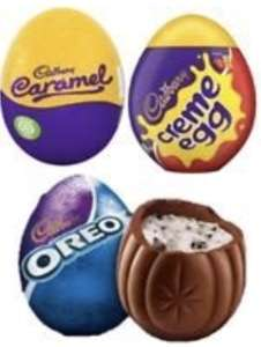 Hershey's & Cadbury's Creme/Caramel/Oreo eggs - 25p instore @ Tesco, Luton