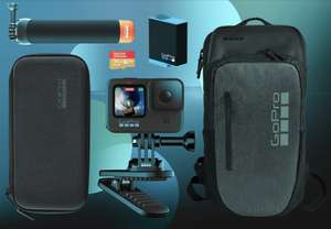 Gopro HERO9 Bundle with free Daytripper Backpack - £379.98 delivered @ GoPro Shop