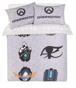 Overwatch Bedding Set - Double - £9.99 + free Click and Collect @ Argos