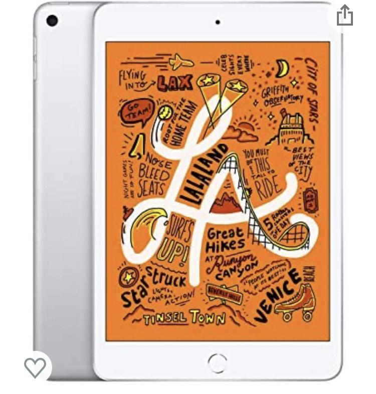 Apple iPad mini (7.9-inch, Wi-Fi, 64GB) - Silver £349 @ Amazon