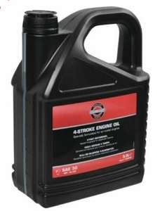Homebase Basingstoke - Briggs & Stratton clearance e.g Briggs and Stratton 4 stroke engine oil 5L £10