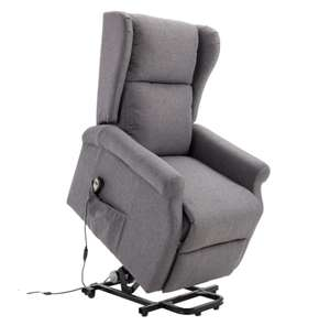 HOMCOM Electric Power Stand Assist Recliner Armchair with Remote Control - £299.19 delivered Through Aosom App