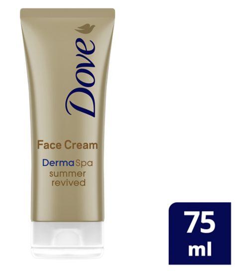 Dove DermaSpa Summer Revived Fair - Medium Gradual Self-Tan Face Cream 75ml - £1.99 + £1.50 Click and Collect / £3.50 delivery @ Boots