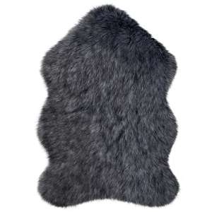 Luxury Single Pelt Faux Fur Rug - £4.50 + free Click and Collect @ Dunelm