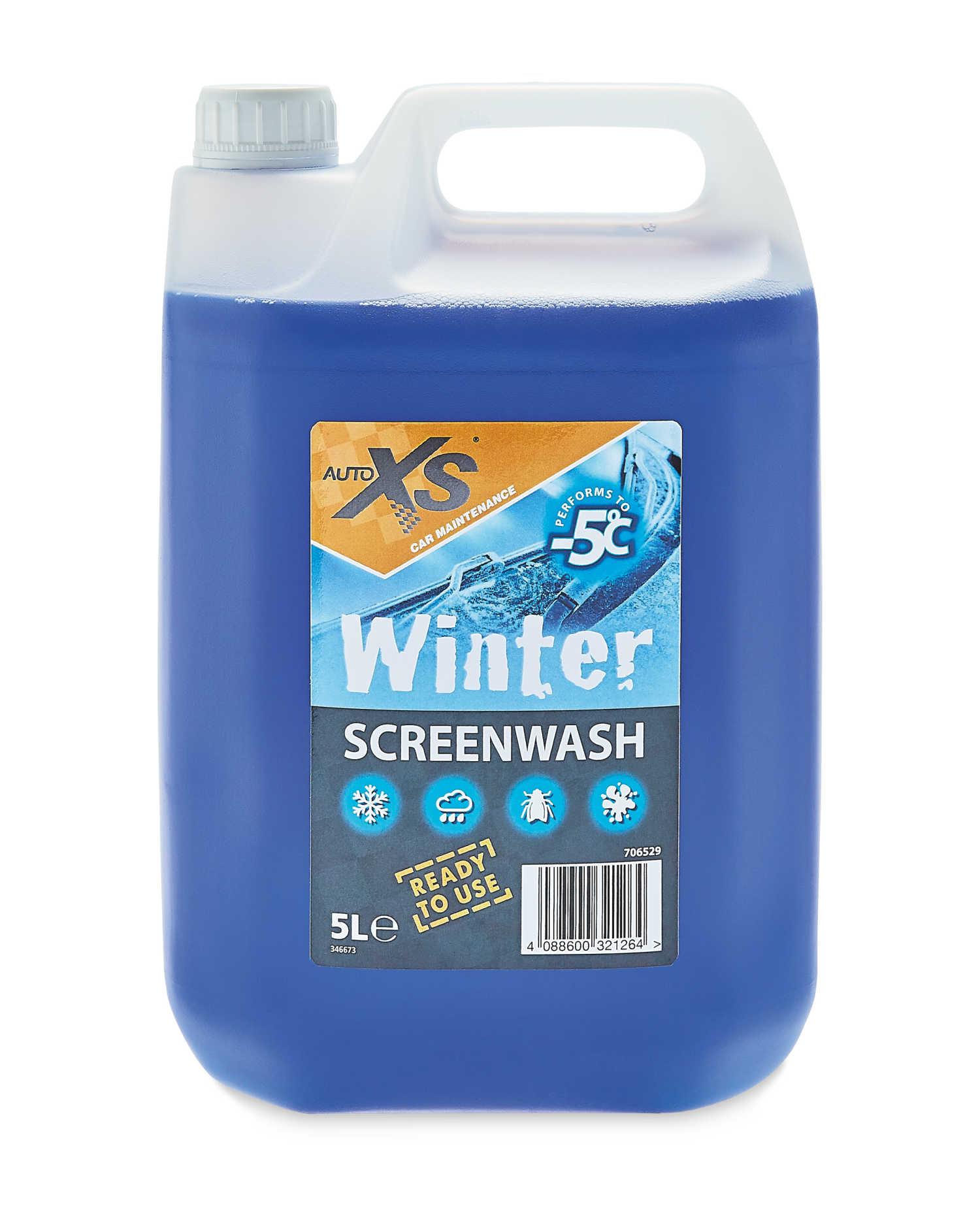Auto XS Winter Screen Wash - £1.99 instore only @ Aldi, Blackpool