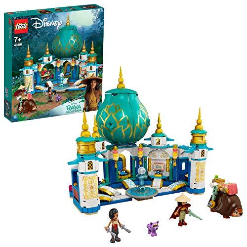 LEGO 43181 Disney Princess Raya and the Heart Palace Playset, Castle Toy with Namaari Minidoll, Tuk Tuk and Serlot Figures - £59.95 @ Amazon