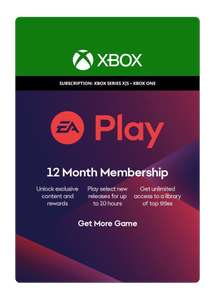 EA Play 12 Month Membership (coverts to 4 months Ultimate Pass for existing members once redeemed) - £17.85 @ ShopTo