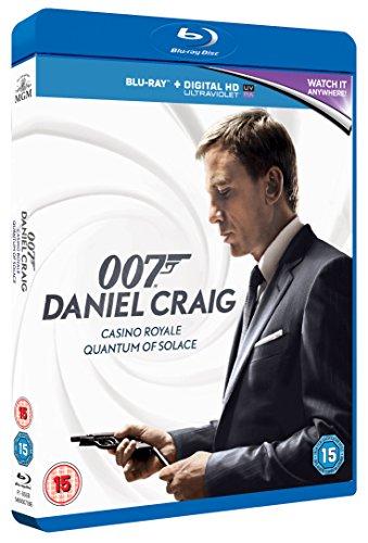 Casino Royale Uncut and Quantum of Solace Blu-ray Boxset £5.30 prime / £8.29 non prime @ Amazon