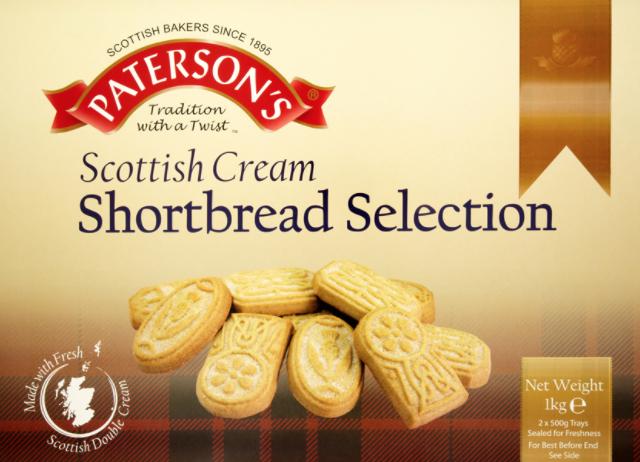 Paterson's Scottish Shortbread Selection - 39p @ Farmfoods (Banbury)