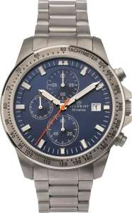 Men's Accurist Titanium Chronograph Watch with Blue Dial and Silver Strap 7244 - £69.99 delivered @ gbwatchshop / eBay