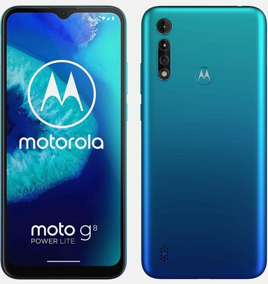 Motorola Moto G8 Power Lite Smartphone 64GB Unlocked *Arctic Blue* B Refurbished Condition - £67.45 With Code @ Cheapest_electrical / eBay