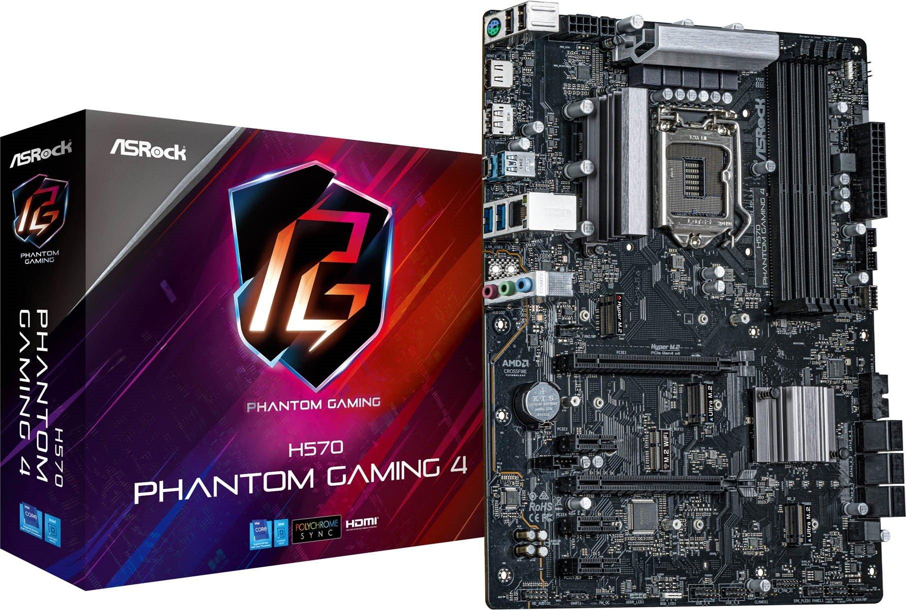 ASRock H570 Phantom Gaming 4 Intel Motherboard with USB 3.2 Gen2x2 - £104.66 delivered @ CCLOnline