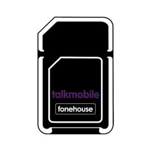 12 Month Sim Only - 12GB Data + Unlimited Mins & Texts On Talkmobile - £8 Per Month (+ £15 Auto Cashback Effective £6.75pm) @ Fonehouse