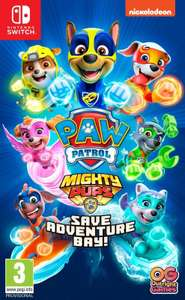 Paw Patrol Mighty Pups Save Adventure Bay (Nintendo Switch) - £19.42 delivered using code @ boss_deals / eBay