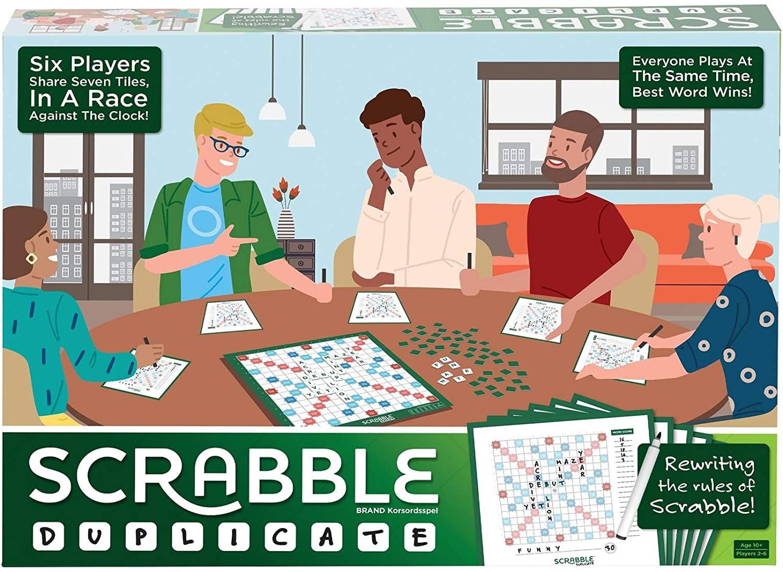Mattel Scrabble Duplicate is £5.05 Prime (+ £4.49 non Prime) Delivered @ Amazon