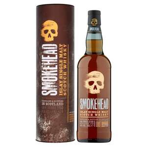 Smokehead Islay Single Malt whisky 43% 70cl for £25 at Morrisons