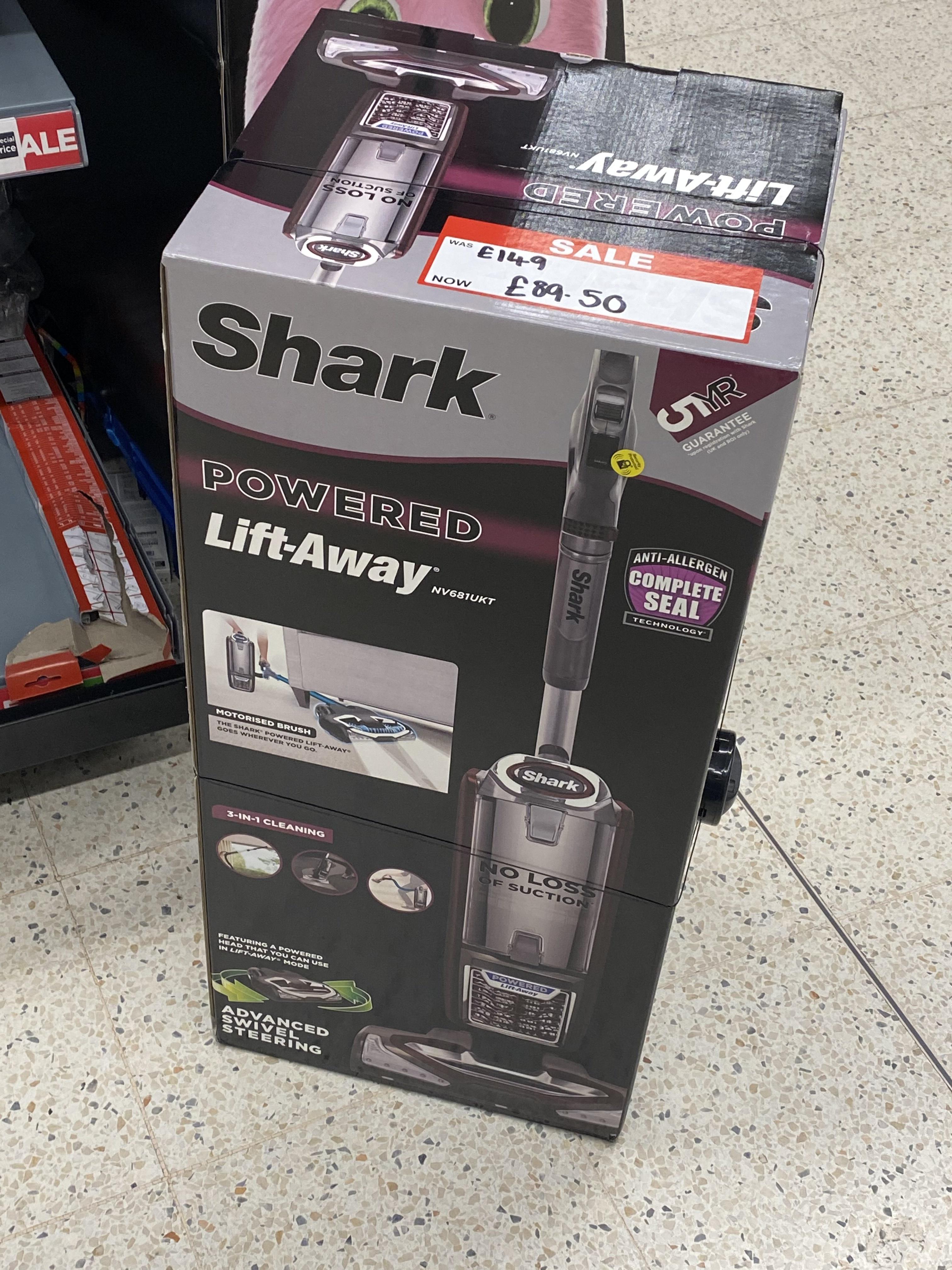 Shark Powered Lift-Away [NV681UKT] 3-in-1 Vacuum - £89.50 @ Asda (Nottingham)