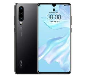 Huawei P30 Black 128GB Smartphone EE Refurbished Good Condition Smartphone - £159.11 With Code @ Music Magpie / Ebay