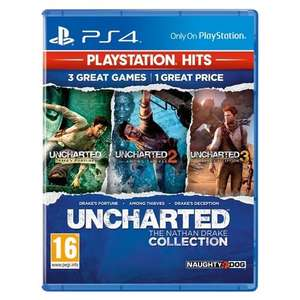 [PS4] Uncharted: The Nathan Drake Collection (PlayStation Hits) - £8 delivered @ Monster Shop