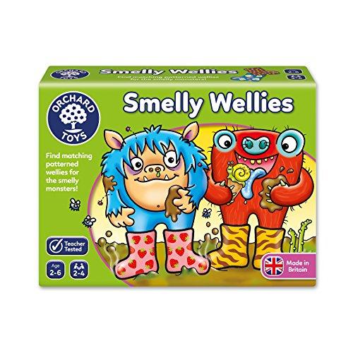Orchard Toys Smelly Wellies Game £4.58 + £4.49 Non Prime @ Amazon