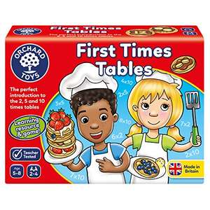Orchard Toys First Times Tables Game £5.16 + £4.49 Non Prime @ Amazon