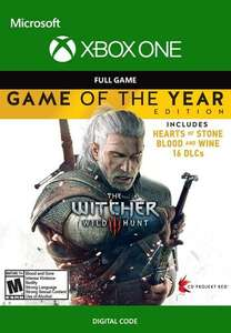 The Witcher 3: Wild Hunt GOTY (Xbox One/Series S & X) Xbox Live Key - Argentina - £4.76 After Using Code @ Eneba/Top Gun Games