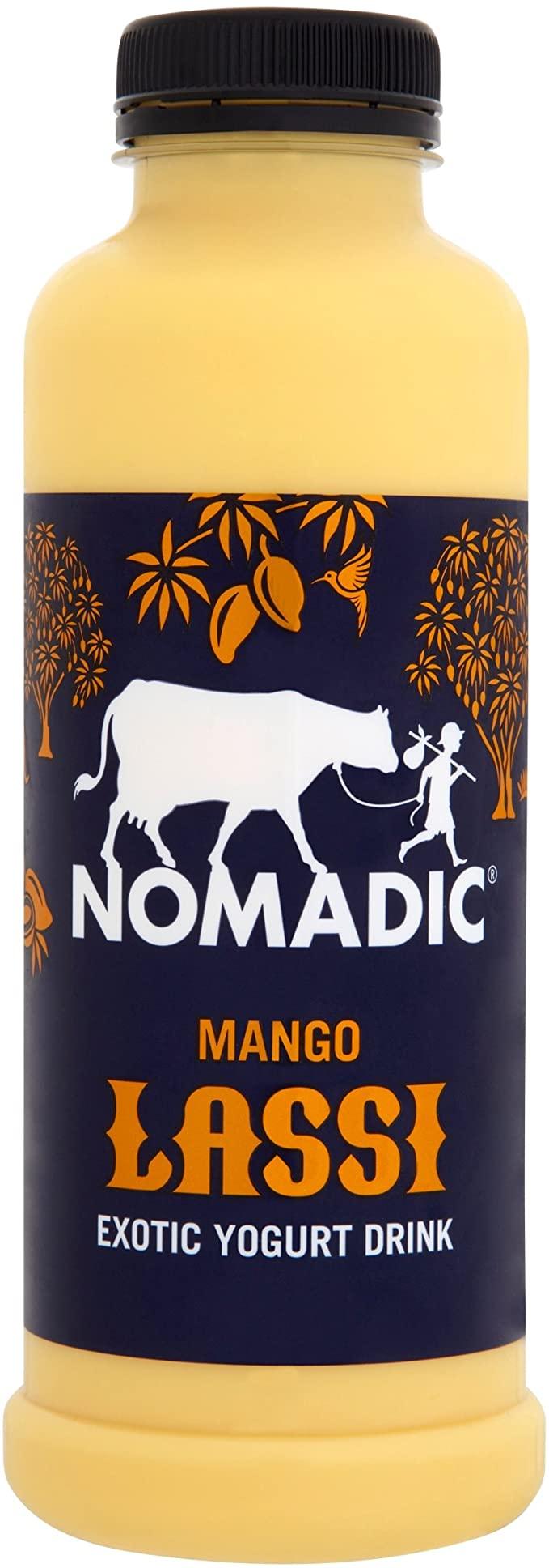 Nomadic Mango Lassi Yogurt Drink 500ml £1 (+ Delivery Charge / Minimum Spend Applies) at Asda