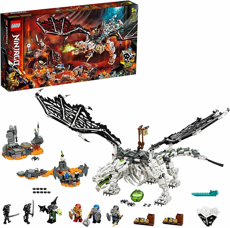 Lego 71721 Ninjago TV Skull Sorcerer's Dragon £44.95 velocityelectronics/ebay
