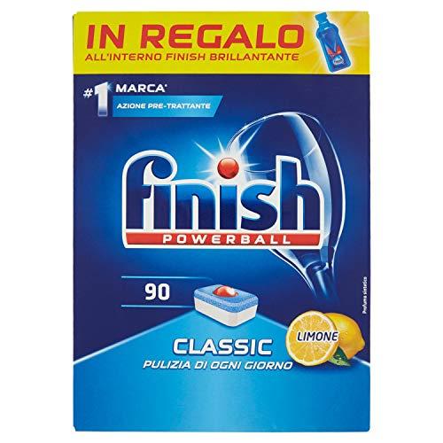 Finish Classic Cleaner 90 tabs, 1629 Gr Lemon £4.21 + £4.49 NP @ Amazon