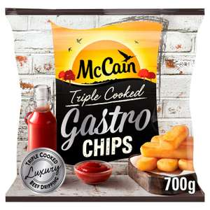 McCain Triple Cooked Gastro Chips 700g £2 @ Sainsbury's