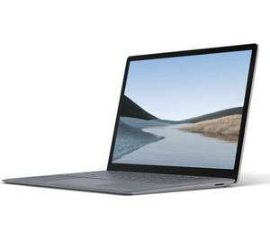 """Opened - Microsoft 13.5"""" Intel Core i5 Surface Laptop 3 - 256 GB SSD, Platinum £799 with code @ Currys Ebay"""