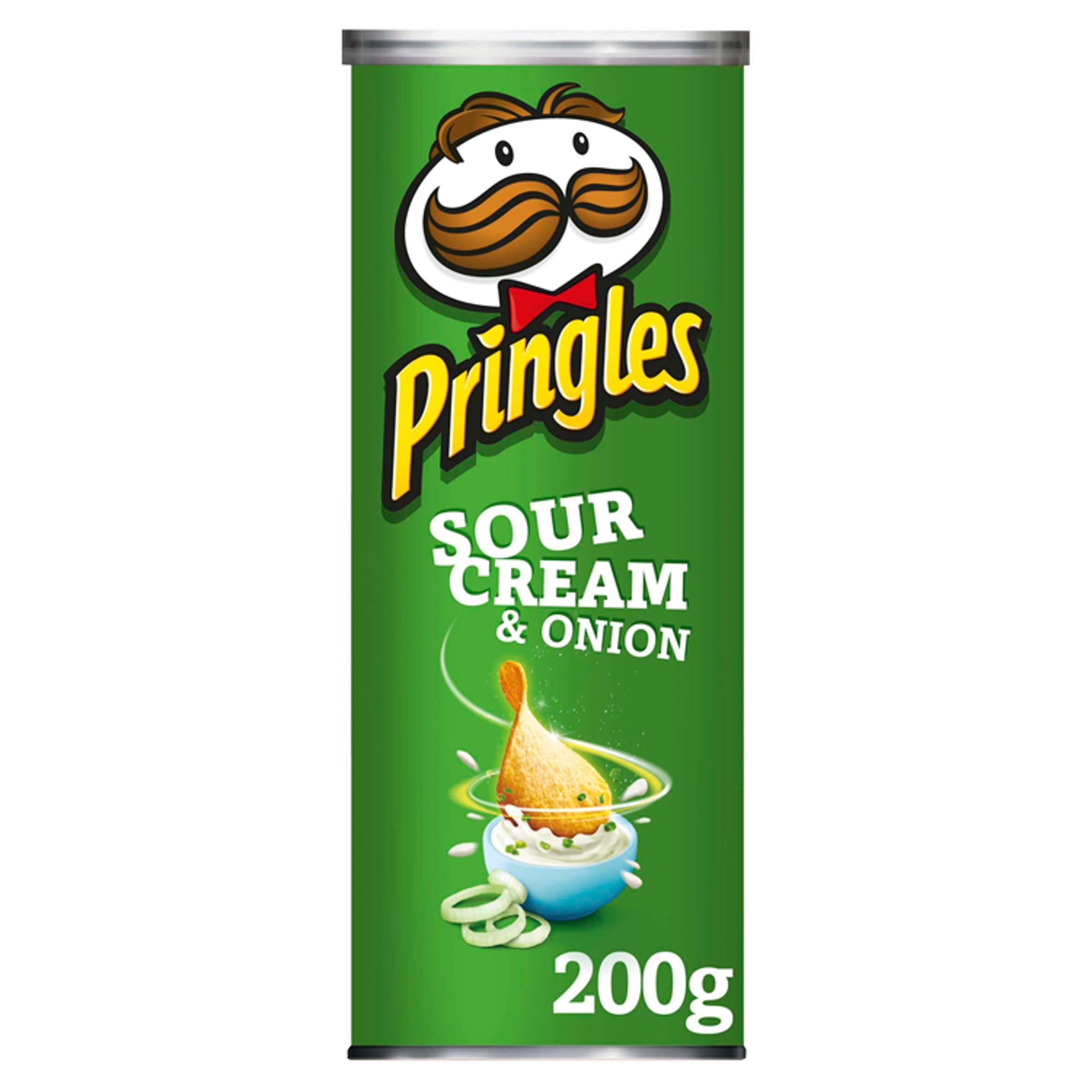 Pringles Sour Cream & Onion Crisps, 200g - £1.50 (was £3.00) @ Iceland