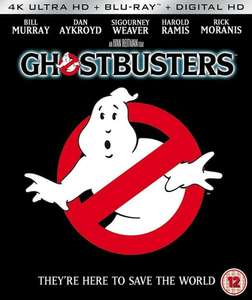Ghostbusters (Original) 4K Ultra HD + Blu-Ray (1984) 2 Discs £9.95 delivered @ deffcom / ebay