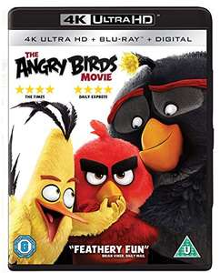The Angry Birds Movie 4K Ultra HD + Blu-ray £5.75 with prime (+£4.49 non prime) @ Amazon / Delboys-Deals