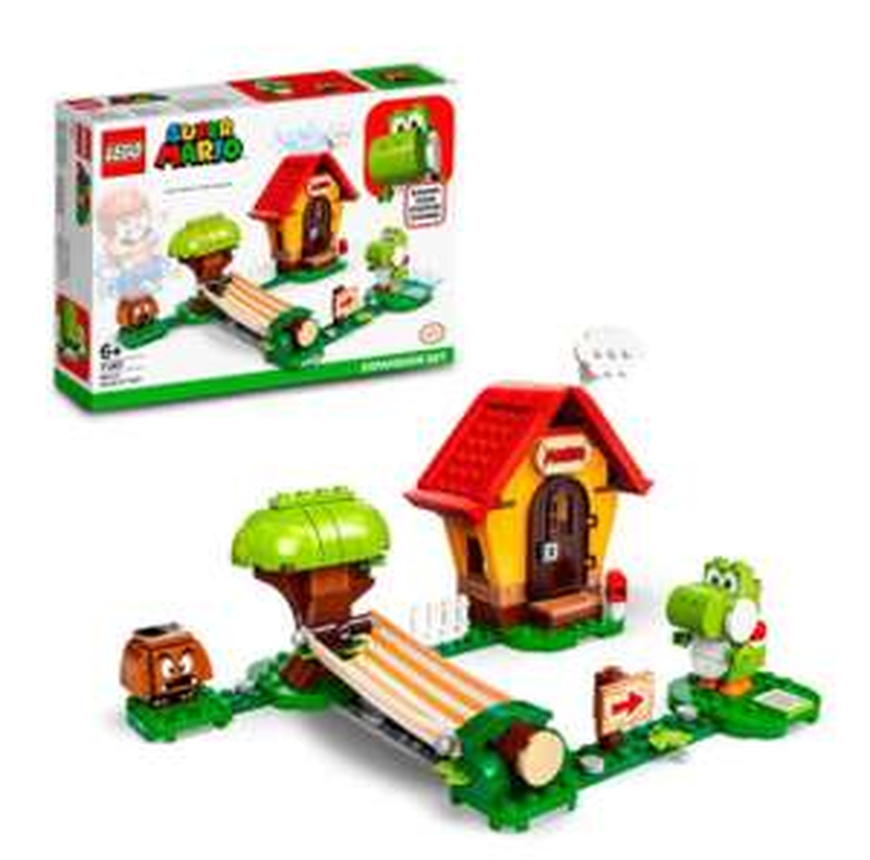 LEGO Marios House & Yoshi Expansion Set 71367/ Iron Man Armoury 76167/Venom Crawler 76163 £18.50 + delivery at Tesco