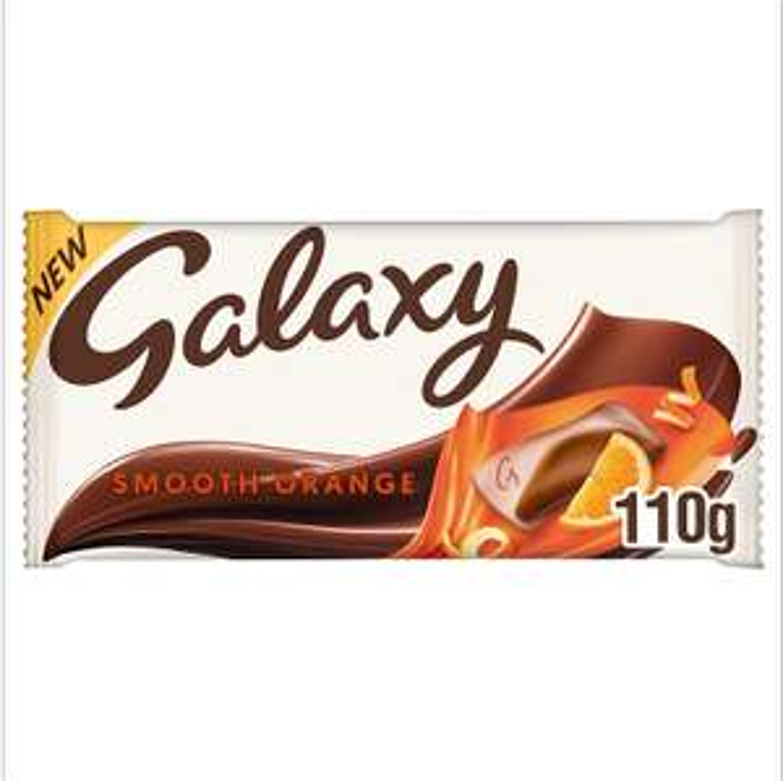 Galaxy Smooth Orange Chocolate Bar, 110 g £1 @ Amazon Prime (+£2.99 non Prime)