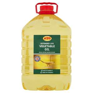 KTC Extended Life Vegetable Oil - 5L at Asda for £4.50