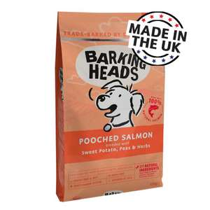 10% off barking heads dog food with code at Zoo Plus from £64.80 for 18kg @ Zooplus