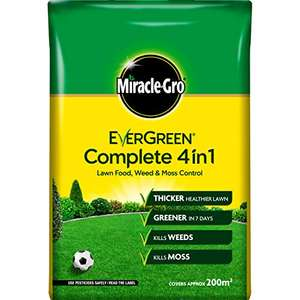 Miracle-Gro 15018 Evergreen Complete 4in1 7kg - 200m £8 Prime at Amazon (+£4.49 non Prime)