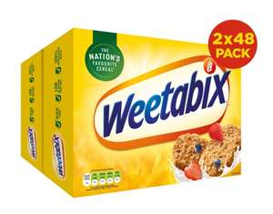 Weetabix, 2 x 48 Pack @ Costco warehouse and online £6.89