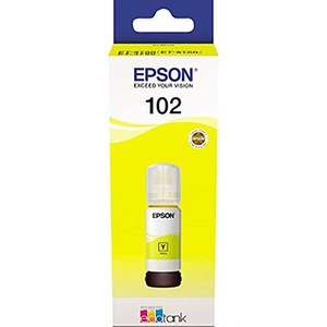 Epson EcoTank 102 Yellow Genuine Ink Bottle £4 on Prime (+£2.99 non Prime)