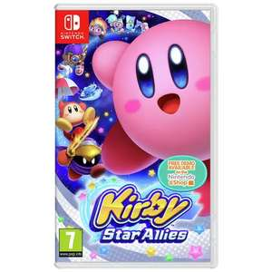 Kirby Star Allies! Switch & Kirby Plush Keychain at Argos for £39.99 (free Click & Collect or £3.95 delivery)