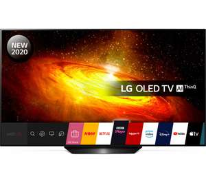 LG OLED55BX6LB + 5 Months Apple Music, Arcade and Apple News+ 5 Year Warranty £949 @ CurrysPCWorld (use code)