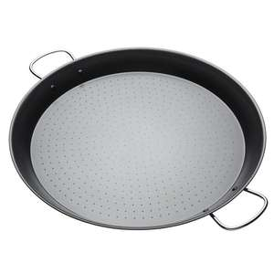 KitchenCraft World of Flavours Paella Pan, Non Stick, Carbon Steel, 46 cm £16.95 + £4.99 Delivery @ Wayfair