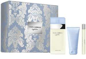 Dolce & Gabbana Light Blue Eau de Toilette 100ml Set £44.99 delivered at House of Fraser