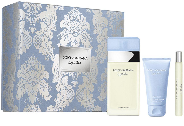 Dolce & Gabbana Light Blue Eau de Toilette 100ml Set £44.99 delivered at House of Fraser