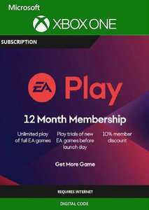 EA PLAY (EA ACCESS) - 12 Month Subscription XBOX ONE £17.49 at CDKeys