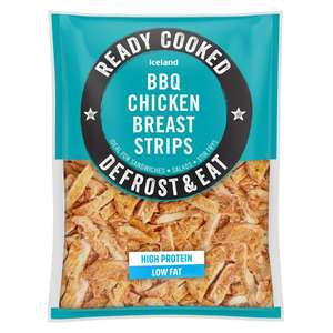 Iceland Ready Cooked BBQ Chicken Breast Strips 400g for £1.50 (Delivery charge/Minimum spend applies) @ Iceland